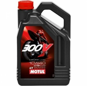 Масло для мотоцикла Motul 300V 10W40