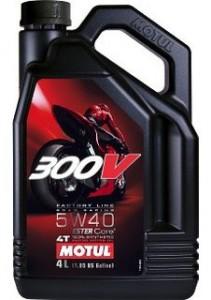 Масло для мотоцикла Motul 300V 5W-40